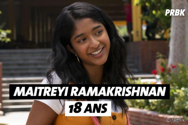 Mes premières fois : quel âge a Maitreyi Ramakrishnan (Devi) ?