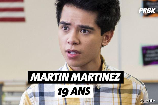 Mes premières fois : quel âge a Martin Martinez (Oliver) ?