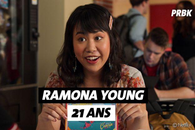 Mes premières fois : quel âge aRamona Young (Eleanor) ?