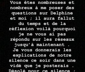 Romain (Mariés au premier regard 2020) poste une message lourd de sens sur sa relation avec Delphine