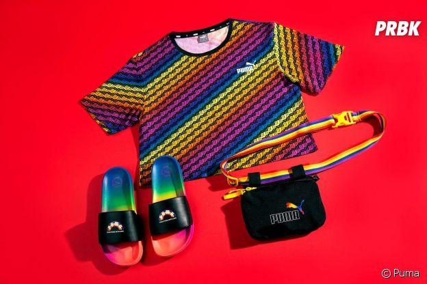 """Cara Delevingne pour Puma : la top dévoile la collection """"From Puma With Love"""", une collab engagée pour la communauté LGBTQIA+"""