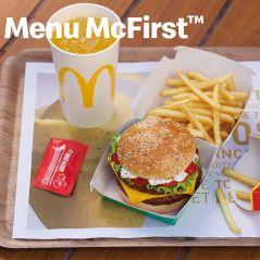 McDonald's : le menu McFirst est de retour ! 🎉