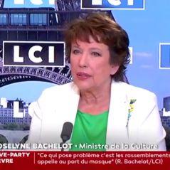 """Roselyne Bachelot appelle à la responsabilité des """"jeunes"""" pour le port du masque"""