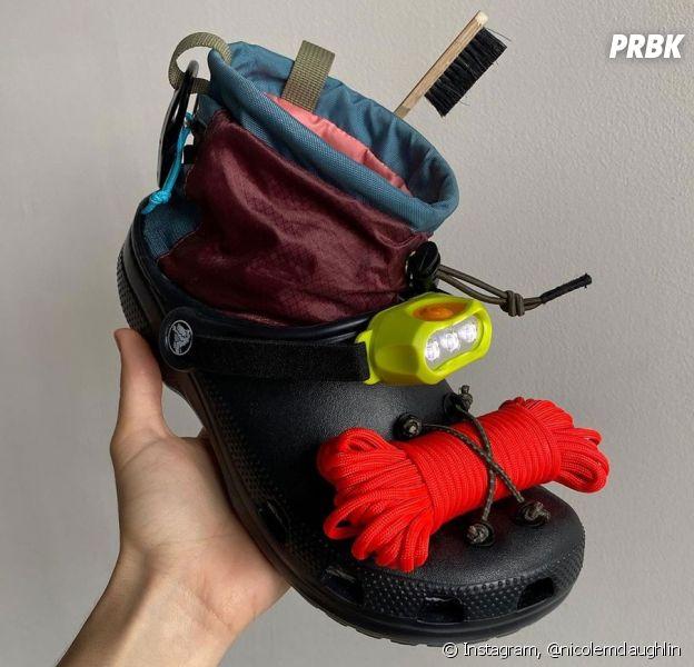 Crocs dévoile sa nouvelle paire de chaussures en collab avec Nicole McLaughlin : validée ou juste cheum ?