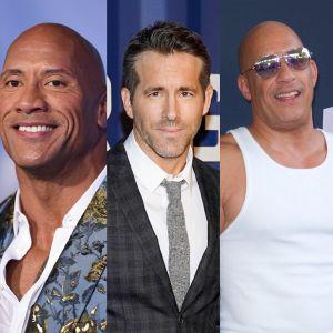 Dwayne Johnson, Ryan Reynolds, Vin Diesel... Top 10 des acteurs les mieux payés au monde en 2020