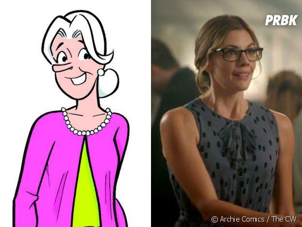 Miss Grundy dans les comics VS dans Riverdale