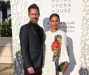 Lesley-Ann Brandt et son mari Chris Payne Gilbert