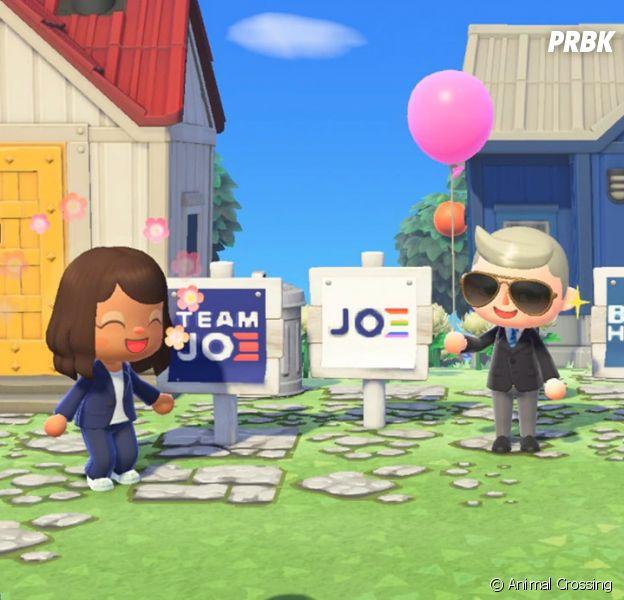 Joe Biden candidat à la présidentielle américaine : le démocrate fait même campagne dans le jeu vidéo Animal Crossing