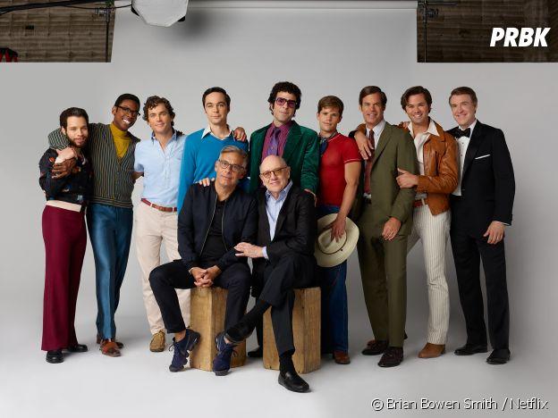 The Boys in the Band : le casting du film en compagnie de Joe Mantello et de Mart Crowley