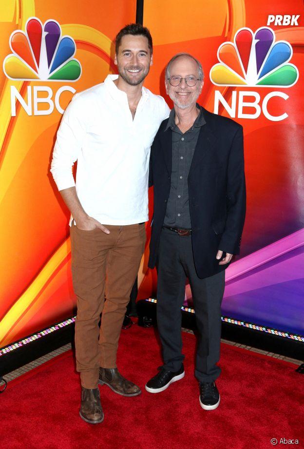 Ryan Eggold qui joue Max Goodwin dans New Amsterdam et le Dr Eric Manheimer qui a inspiré le personnage