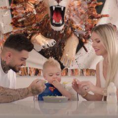 """Thibault Garcia déclare son amour à son fils Maylone et Jessica Thivenin dans le clip """"Bambino"""""""