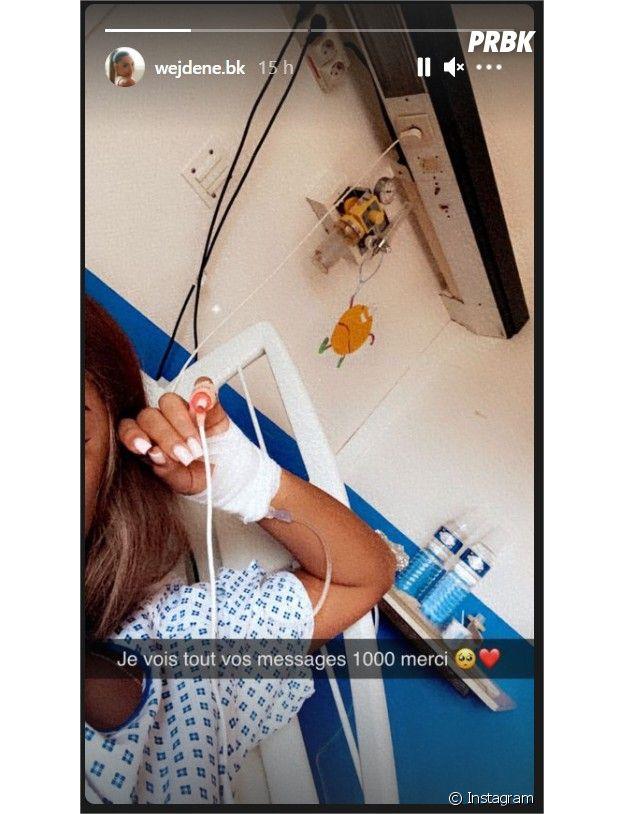 Wejdene hospitalisée : la photo qui affole les fans