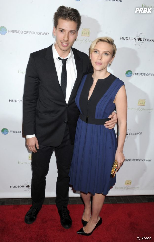 Scarlett Johansson et son frère jumeau Hunter