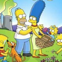 Les Simpsons saison 22 ... Jane Lynch la star de Glee en guest