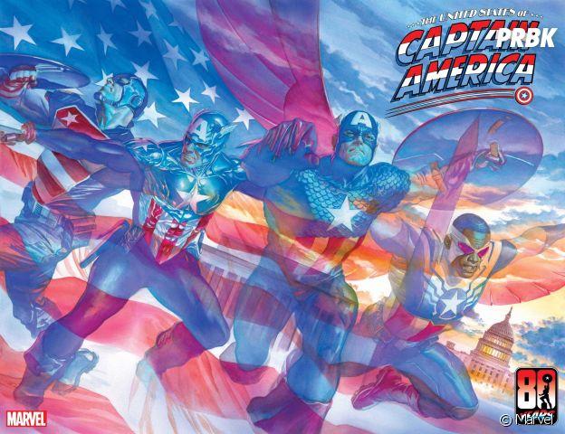 Marvel dévoile un héros LGBTQ : Aaron Fisher, un nouveau Captain America gay