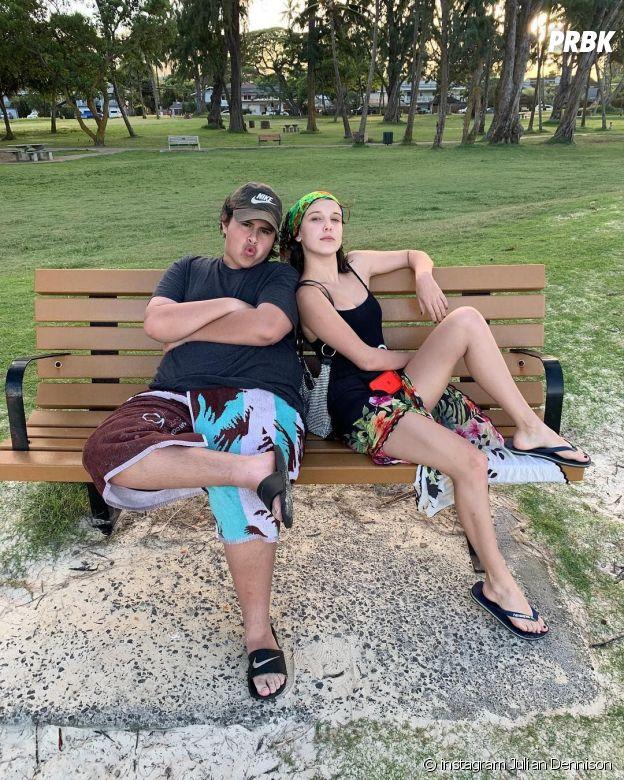 Julian Dennison et Millie Bobby Brown