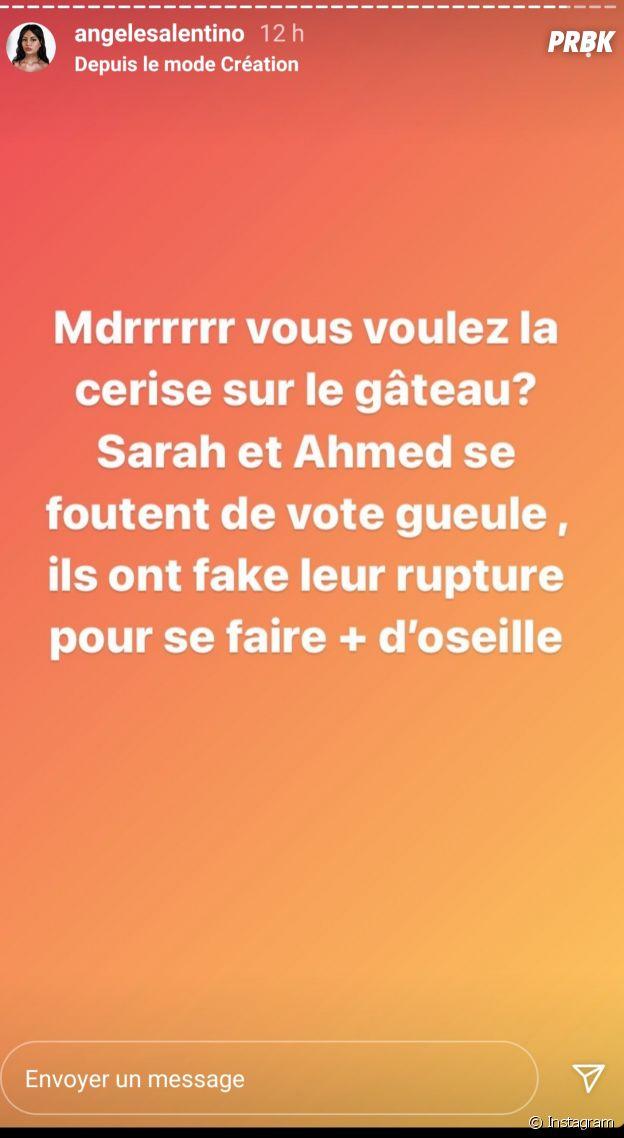Sarah Fraisou et Ahmed Thaï divorcés pour de faux ? Angèle (Les Vacances des Anges 4) balance que leur divorce serait fake, pour de l'argent
