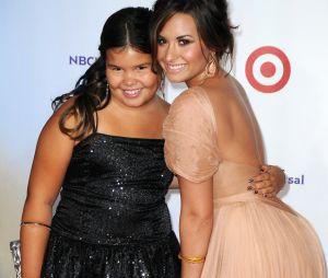 Demi Lovato est la demi-soeur de Madison de la Garza
