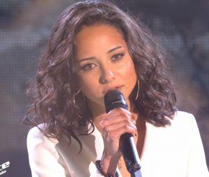 Amel Bent lors d'une interview pour PRBK. The Voice : Marghe, la gagnante de la saison 10, s'est confiée en interview