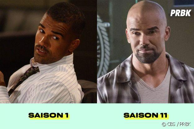 Esprits Criminels : Shemar Moore au début de la série VS dans la saison 11