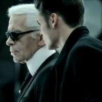Karl Lagerfeld et Baptiste Giabiconi ... Réunis pour une pub Volkswagen
