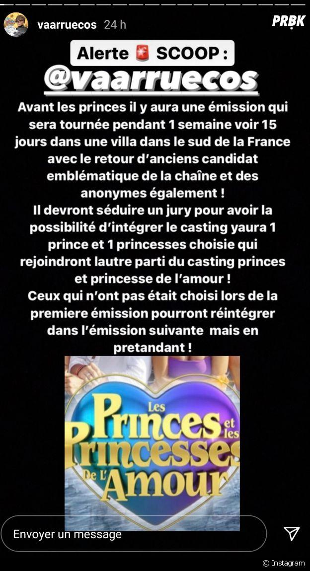 Bientôt une nouvelle télé-réalité avant Les Princes de l'amour / Les Princes et les Princesses de l'amour ?