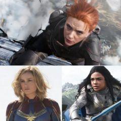 Black Widow, Captain Marvel, Yelena... les héroïnes les plus badass du MCU