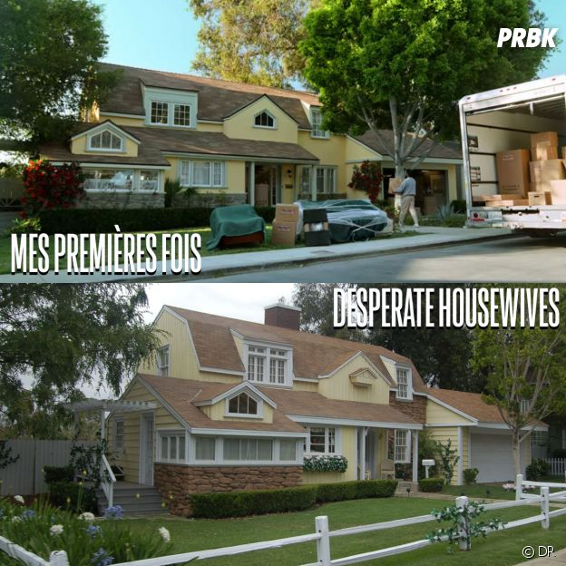 Mes premières fois et Desperate Housewives ont été tournées au même endroit