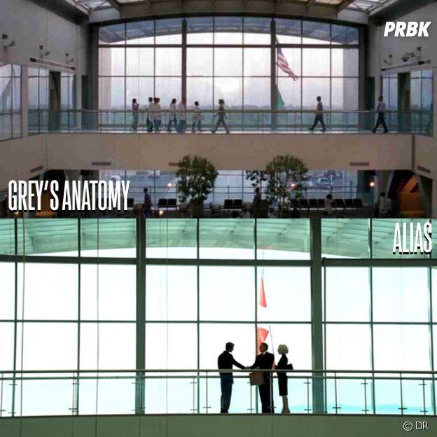Grey's Anatomy et Alias ont été tournées au même endroit