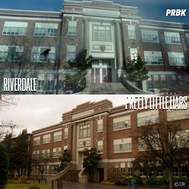 Riverdale et Pretty Little Liars ont été tournées au même endroit