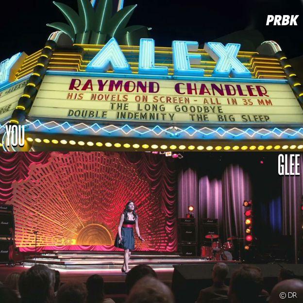 You et Glee ont été tournées au même endroit