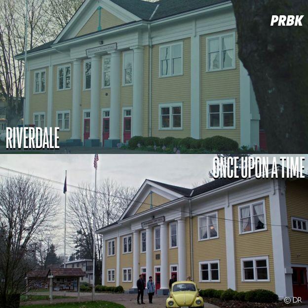 Riverdale et Once Upon a Time ont été tournées au même endroit