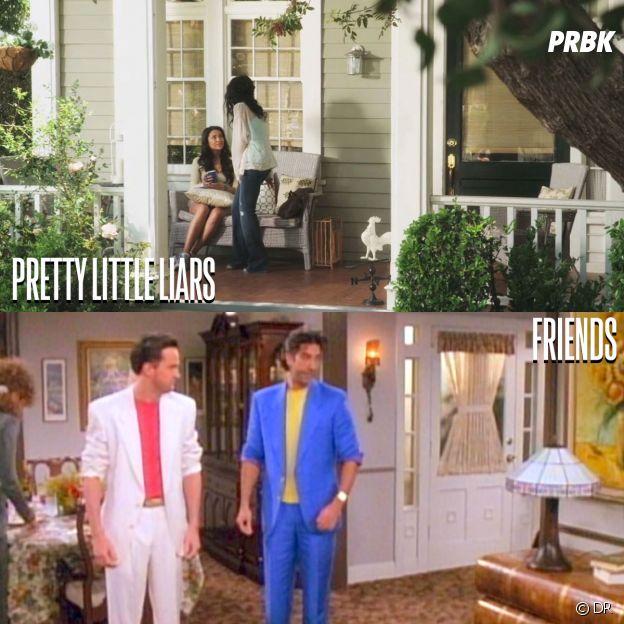 Pretty Little Liars et Friends ont été tournées au même endroit
