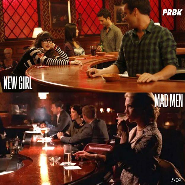 New Girl et Mad Men ont été tournées au même endroit