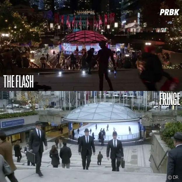 The Flash et Fringe ont été tournées au même endroit