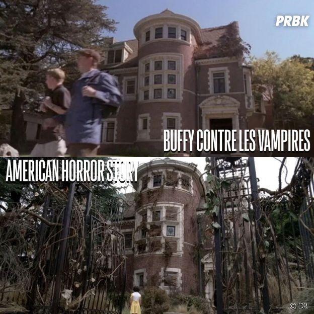 Buffy contre les vampires et American Horror Story ont été tournées au même endroit