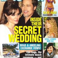 Brad Pitt et Angelina Jolie ... Ils se sont mariés en secret