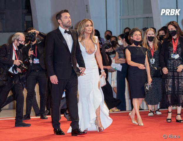 Jennifer Lopez et Ben Affleck officialisent leur couple au Festival de Venis le 10 septembre 2021