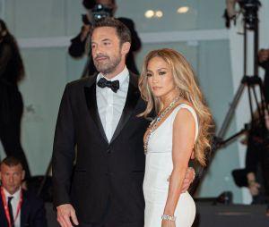 Jennifer Lopez et Ben Affleck posent au Festival de Venis le 10 septembre 2021