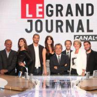 Le Grand Journal de Canal Plus ... les invités de ce soir et le maillot Nike de l'équipe de France