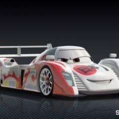 Cars 2 ... La photo de la voiture japonaise