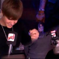 Justin Bieber sur NRJ pour le 6/9 ... il donne une mèche à Mustapha