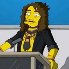 Russell Brand ... Pas content d'avoir des piercing aux tétons dans les Simpson