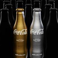 PHOTOS ... Coca-Cola et Daft Punk présentent des bouteilles Or et Argent