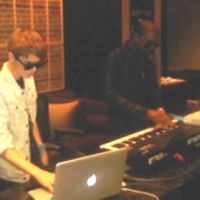 Justin Bieber ... En studio avec Kanye West (photo)