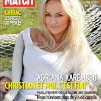 Adriana Karembeu ... elle dit tout dans Paris Match ... PHOTO