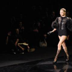 Kate Moss au défilé Vuitton ... retour fracassant pour la ''brindille'' (vidéo et photos)
