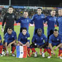Téléfoot ce matin ... avec les joueurs de l'équipe de France et Laurent Blanc