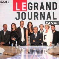 Le Grand Journal sur Canal Plus aujourd'hui ... Melissa Theuriau enceinte