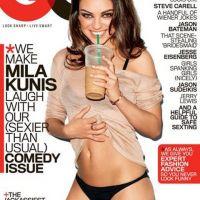 Mila Kunis trop sexy en une de GQ ... elle parle de ses amours